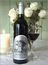 Silver Oak Wine. Cheers!