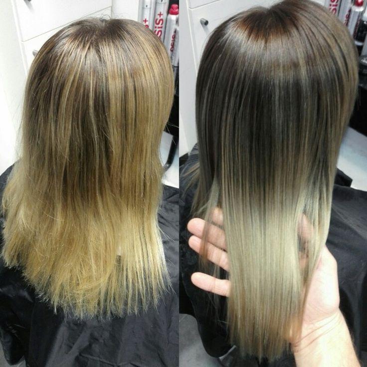 Balayage hair color!