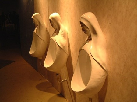 WHY?? Just... Why??: Stuff, Nun Urinal, Art, Toilets, Funny, Weird, Bathroom, Design