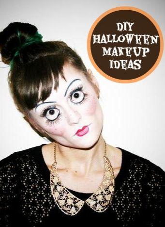 10 DIY halloween makeup ideas