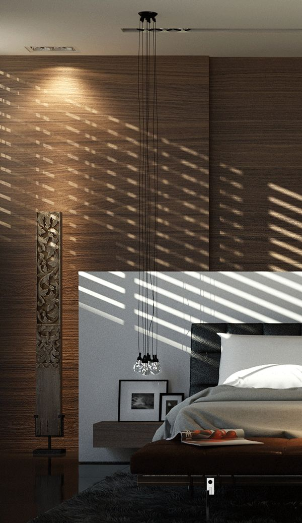 MASTER BEDROOM SUITE  DOHA by Karim Emam, via Behance