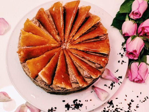 Венгерский торт добош на