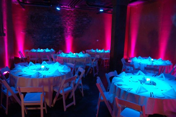 Lighting beyond illumination at your events can create such a unique ambience