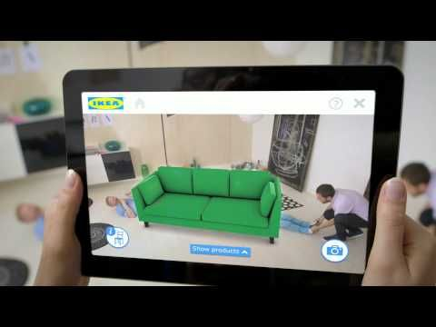 NO MORE IMAGINING. IKEA'S APP WILL PREVIEW 3-D RENDERINGS OF FURNITURE IN REAL TIME.