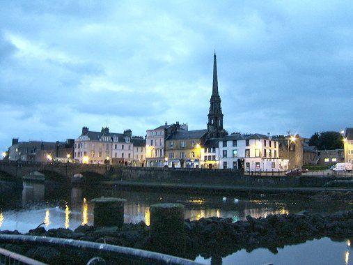 Ayr, Scotland, Rabbie (Robert) Burns, homeplace.