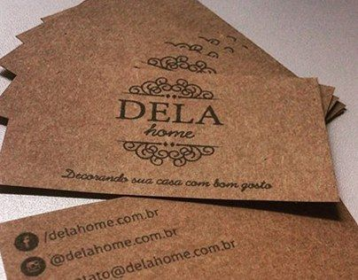 """Check out new work on my @Behance portfolio: """"Marca e identidade visual Dela Home"""" http://be.net/gallery/35968433/Marca-e-identidade-visual-Dela-Home"""