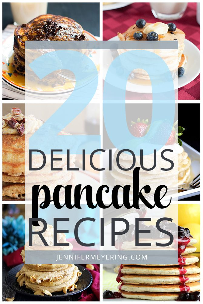 Happy Friday, ya'll! IHOP's national pancake day was just recently and so in celebration I decided to do a round-up of 20 icious pancake recipes! Because we all know how much I  pancakes! Extra Thick and Fluffy Japanese Style