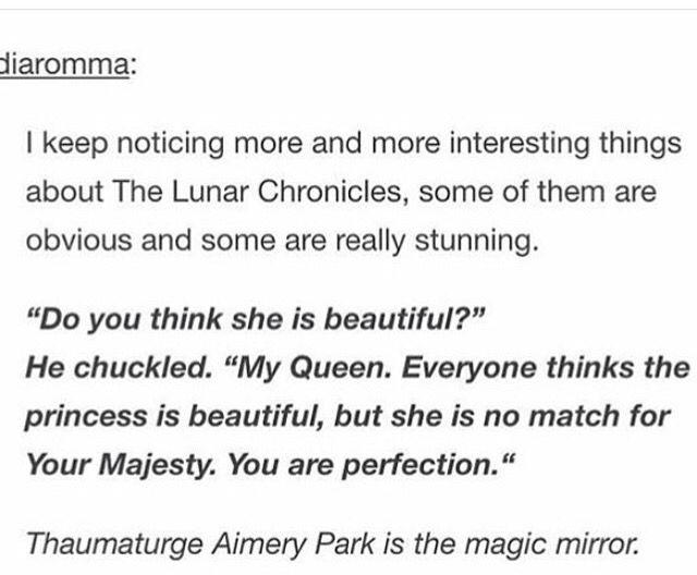 The Lunar Chronicles (Marissa Meyer)