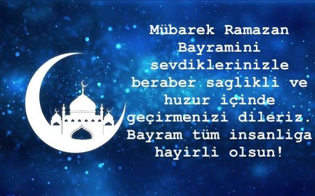 En Güzel Kisa Ramazan Bayram Mesajlari 2019 - (Ramazan Bayrami ...