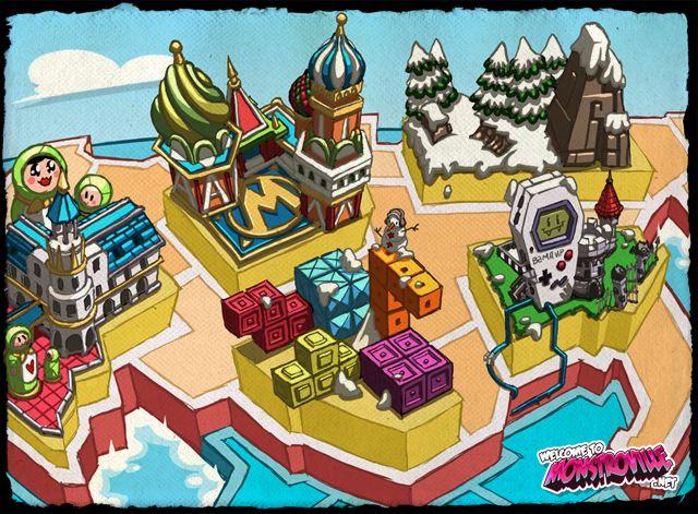 Recherche Map Zones Russie ♠ Monstroland