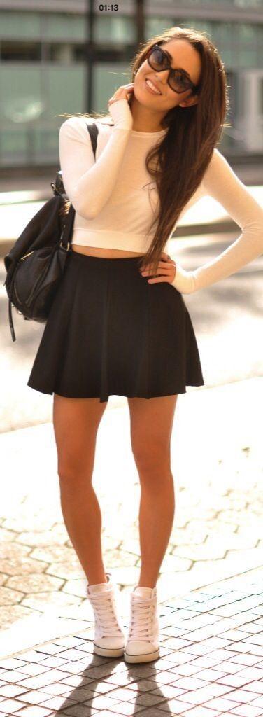 Me encantan este tipo de faldas. Son hermosas y muy femeninas.