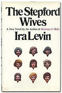 The Stepford Wives is a 1972 satirical thriller novel by Ira Levin. The story concerns Joanna Eberhart, a photographer and young mother who begins to suspect that the frighteningly submissive housewives in her new idyllic Connecticut neighborhood may be robots created by their husbands.    Two films of the same name have been adapted from the novel; the first starred Katharine Ross and was released in 1975, while a remake starring Nicole Kidman appeared in 2004. (Wiki)   > clic pic for more