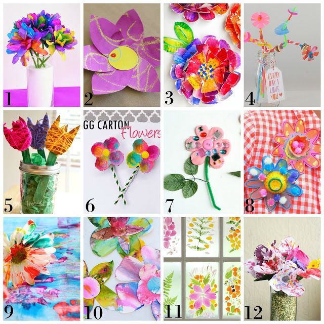 prozesskunst fr hlingsblumen and f r kinder on pinterest