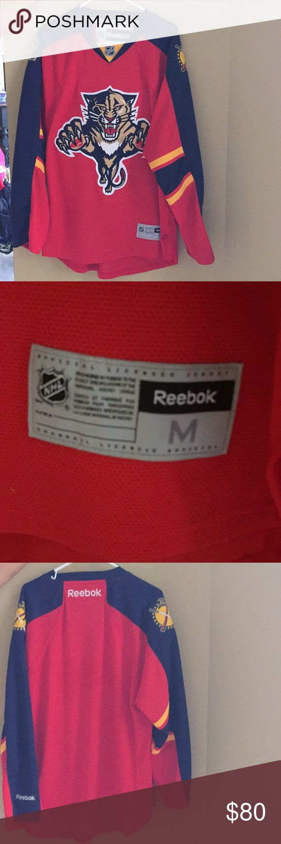 Florida Panthers Reebok Jersey Excellent condition Reebok Shirts
