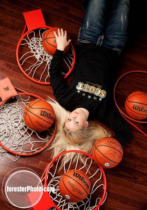 Senior pic idea Basketball photo by Beth Forester Photography