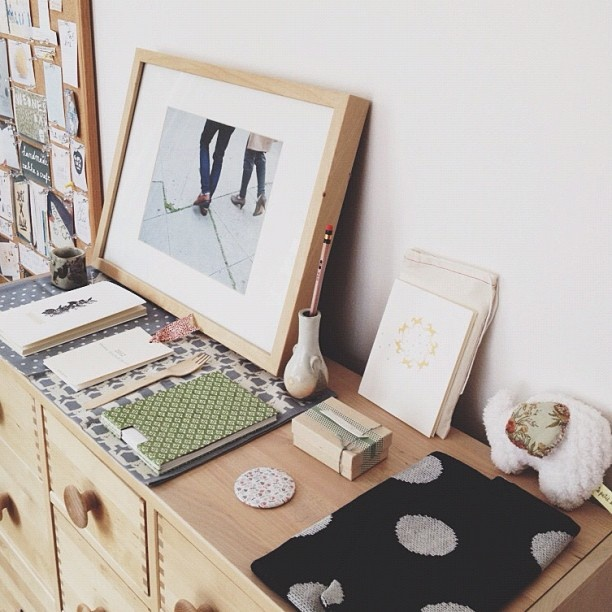 ++ restyled inspiration table.: Photo Ideas, Frames, Work Spaces, Interiors Design, Magazines, Desks, Drawers