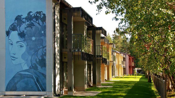 Joensuun Elli, Joensuu, Finland 2011 (housing). Architect: Arcadia Oy Arkkitehtitoimisto, design/graphics: Maria Mughal, prefabrication: Pielisen Betoni Oy.