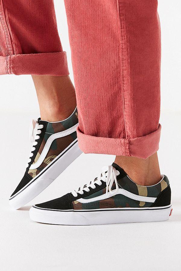 11a3487d02 Vans Woodland Camo Old Skool Sneaker