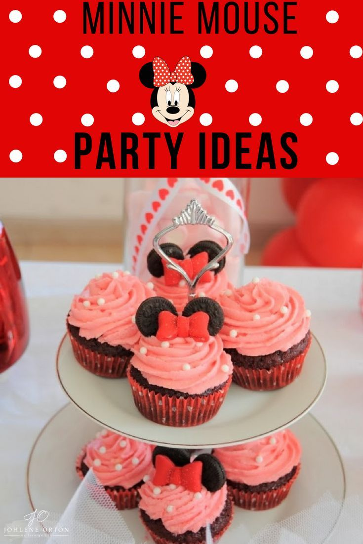 Minnie Mouse birthday party ideas!