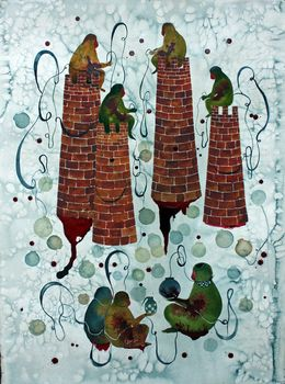 Shiva Ahmadi, 'Tower,' 2017, Leila Heller Gallery