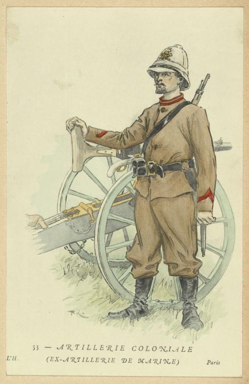 Colonial Artillery c 1900