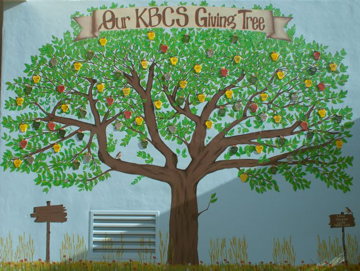 A mural at Key Biscayne Elementary School; 'Our KBCS