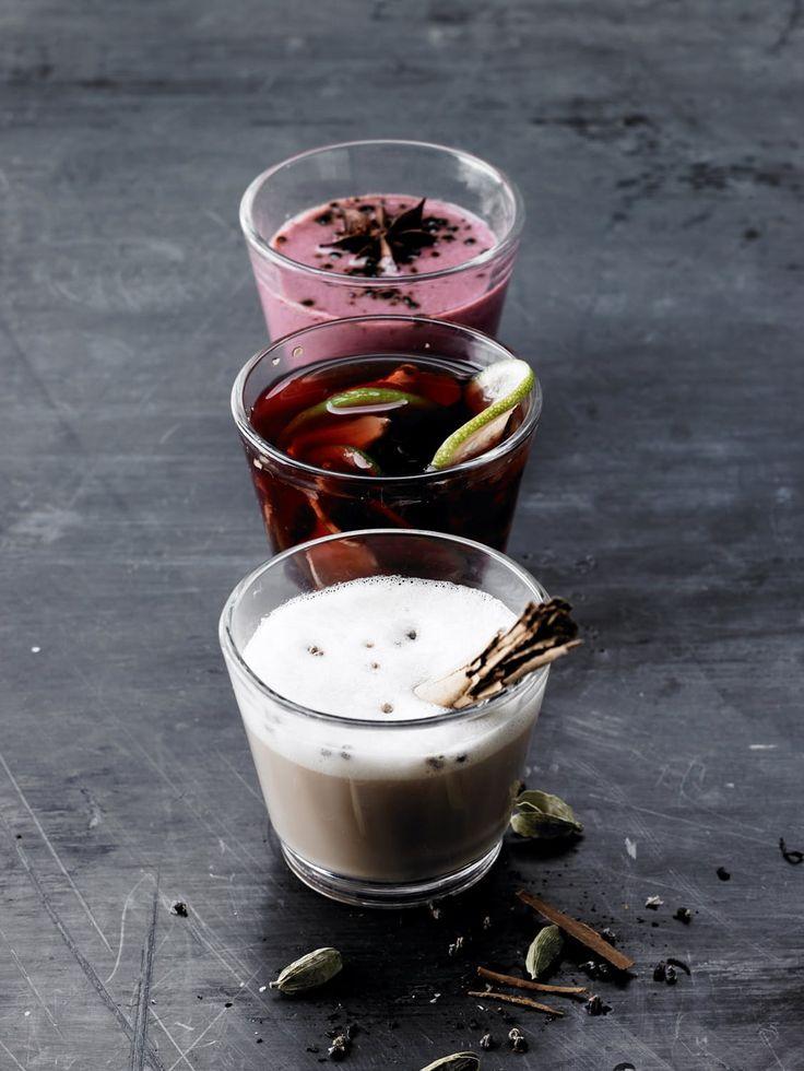 Annamme mausteisten, kevyiden ja herkullisten pikku juomien ohjeita.