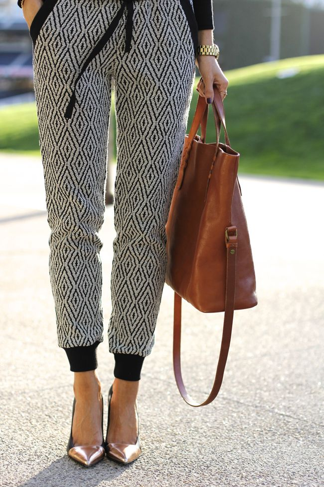 Talking about my love for... (what I like to call) The Dressy Sweatpants!
