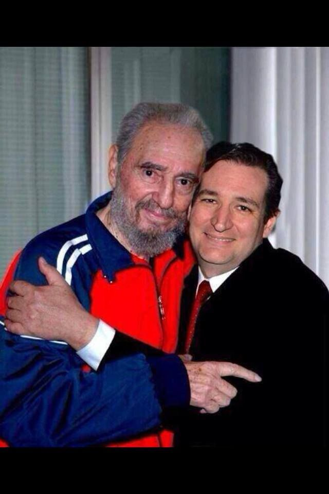 Ted has daddy issues, well a lot of issues actually. Wait, isn't that Fidel ted is hugging?
