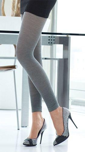 Flotte ull leggings til vinterbruk. Livlige farger gir garderoben din et nytt pust.
