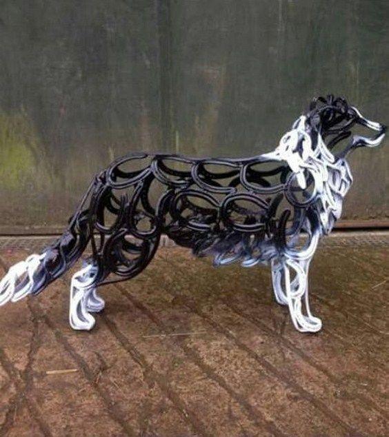 30 Inspiring Horseshoe Arts. | http://handmadness.com/2016/10/07/30-different-inspiring-horseshoe-arts/