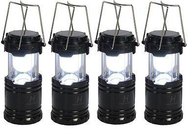 Hosmart 4Pack Outdoor USB Rechargeable Solar Led Lantern Lighting Included