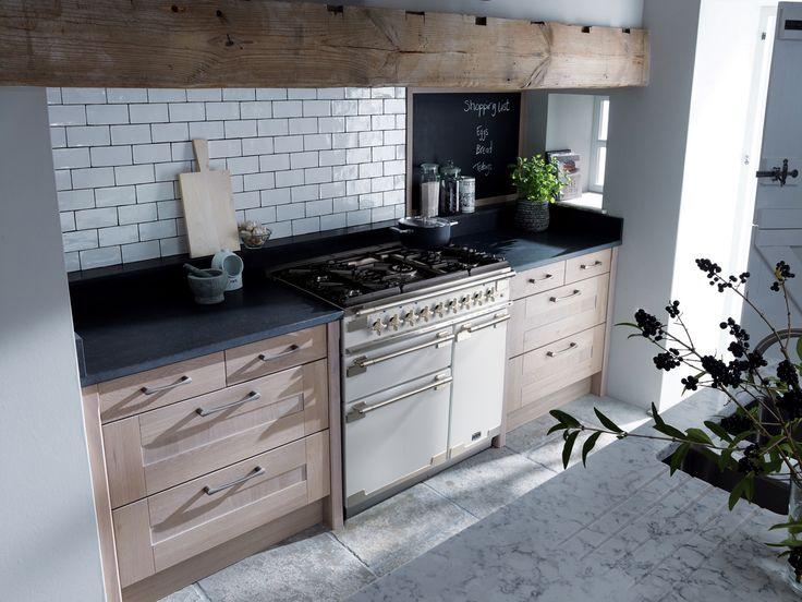 Falcon Elise 90cm fornuis wit - keuken ideeën | UW-keuken.nl