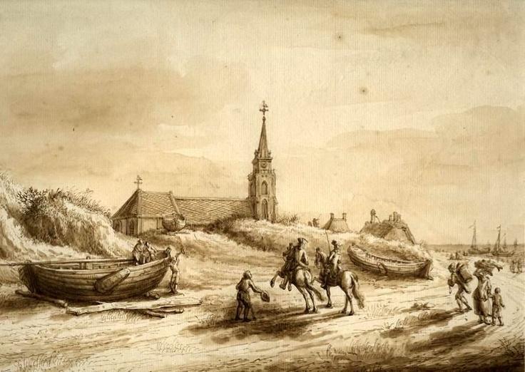 Scheveningen in 17 e eeuw