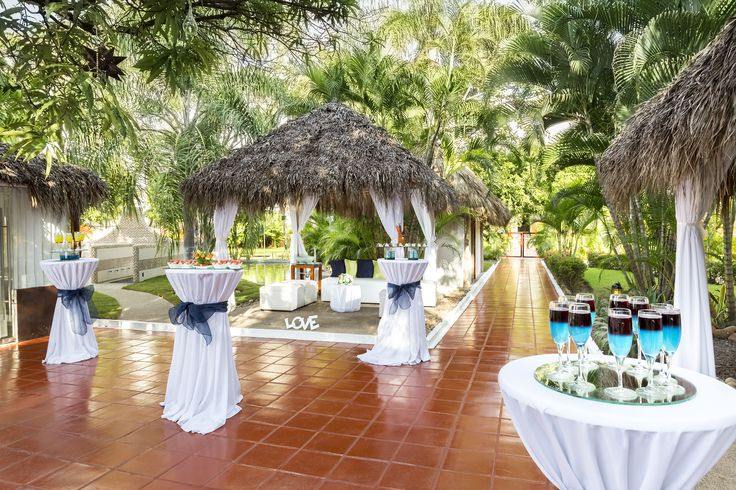 A Tail Wedding Set Up At The Melia Puerto Vallarta Pinterest And Resorts