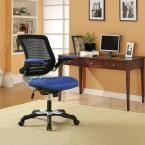 Edge Mesh Office Chair in Blue