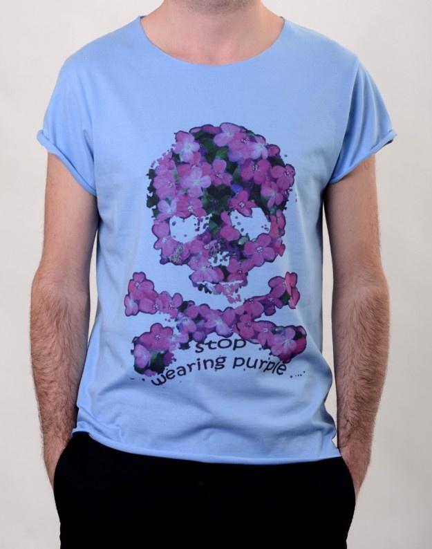 Purple Skull T-Shirt  http://www.hotncool.ro/barbati/purple-skull-tshirt.html