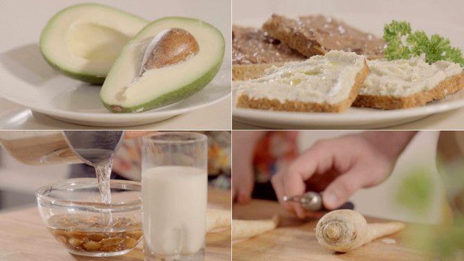 Zdrowe śniadanie: pasty z pietruszki i awokado