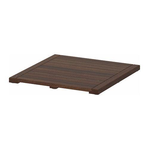 MOLGER Caillebotis - brun foncé  - IKEA