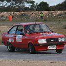 Oz Gymkhana #48 Ford Escort by Stuart Daddow Photography