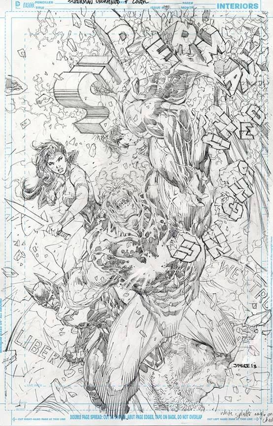 Superman Unchained #7 - Jim Lee