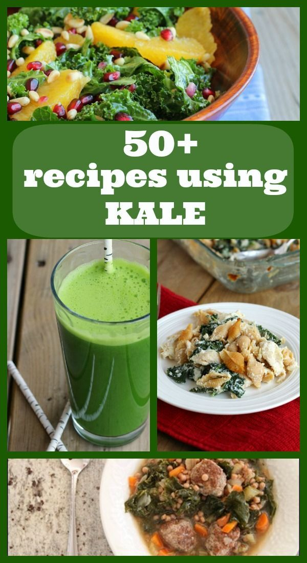 Over 50 recipe ideas for kale -- find all the kale recipes on RachelCooks.com