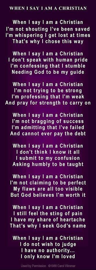 Mi única creencia que me hace ser en El - lo que yo soy. Dios es mi todo porque el hizo todo por mi❤