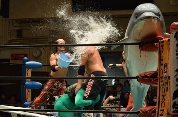 26 Photos That Prove Japanese Wrestling Is the Most Insane Sport the World Has Ever Seen | 22 Words