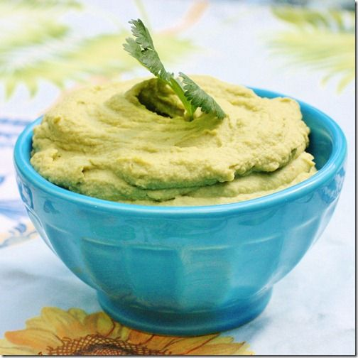 Zesty Cilantro Lovers Hummus