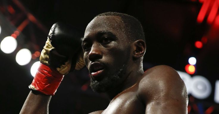 "Terence Crawford confronts Jose Benavidez Jr., invites him to ""step outside"" #allthebelts #boxing"