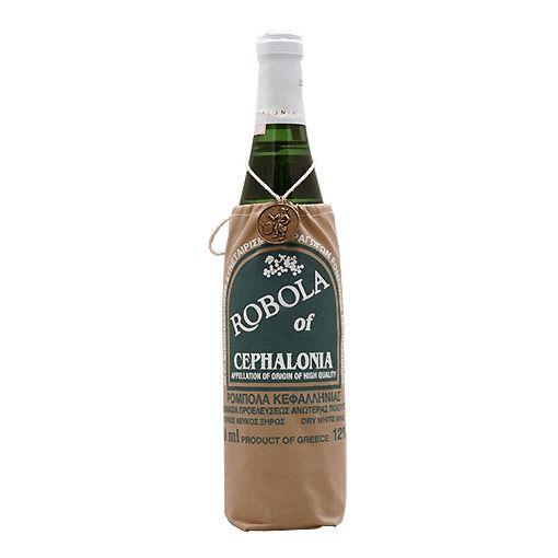 Deze griekse wijn hebben wij geschonken tijdens het eten op onze bruiloft, erg lekker en ziet er ook leuk uit met dat zakje