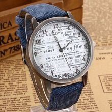 Promotion 2015 Vintage Retro Casual Watch Lady Women Wristwatch New Fashion Leather Quartz Watch Punk Style Relogio feminino(China (Mainland))