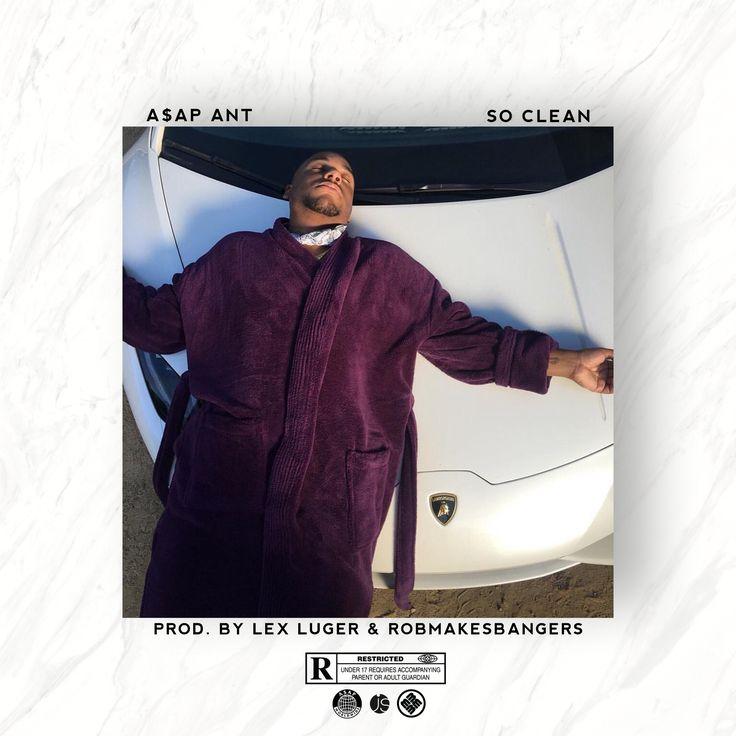 official coverart for 'so clean' by A$AP Ant prod. by Lex Luger & Robmakesbangers https://soundcloud.com/robmakesbangers/asap-ant-so-clean-prod-robmakesbangers-lex-luger