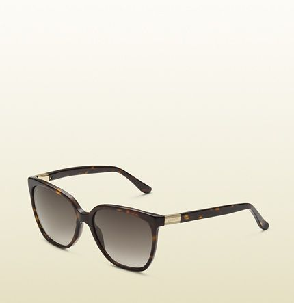 women's bio-based square sunglasses [Gucci]